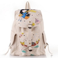 best  WOMEN'S BAGS.fashion handbag ,ladies handbag as gift  designer cotton  backpack fashion hand painted bag     YC-CA035