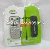 USB Digital  DVB-T+FM+DAB With RTL2832U&R820T With MCX  Antenna Free shipping