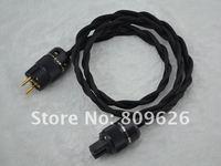 HI-END European Audiophile Professional AC Series 6N Copper European  power cable 1.5m