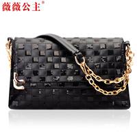 Princess 2012 women's handbag fabric chain paillette vintage cross-body shoulder bag