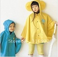 New style free shipping smally children raincoats with big ears yellow,pink and blue