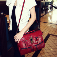 Retro bag, all-match shoulder bag , NewlookMall motorcycle bag