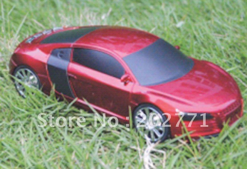Mini Stereo Audi R5 Car Model Speaker(China (Mainland))