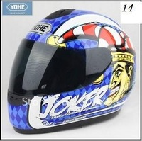 YOHE motorcycle full face helmet,with neck cover exceed DOT,ECE,AS/NZS,NBR,SNELL standard CollectionMotor vehicle helmet