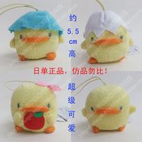 Hot-selling original eikoh piyopiyo piyo chan mobile phone key chain plush doll pendant soft toy stuffed yellow duck