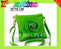 Маленькая сумочка Ladies colorful Camellia Rose Flower Wristlet Purse Handbag &Retail