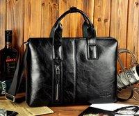 2012 cross-section of the new men's handbag business computer briefcase, messenger bag man bag 1pcs Free Shipping MB56
