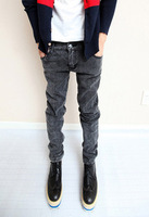 Free Shipping 2012 spring and summer slim jeans pencil pants male trousers jeans skinny jeans trousers