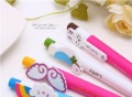 New Arrival Free Shipping 100PCS/Lot 0.5mm Fashion Plastic Cartoon Pen/Delicate Promotion Pen/Creative Novelty Pen/Wholesale