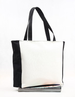 Free shipping DIY canvas bag ,women's handbag ,reusable bags , 4pcs/lot, high quality bag