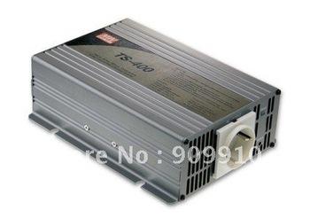 Mean Well 400W/peak 800W true sine wave 12/24/48VDC to 110/220VAC power inverter