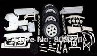 Free Shipping- Nylon Upgrade Parts Set for Baja 5T, Including Knobby Wheels