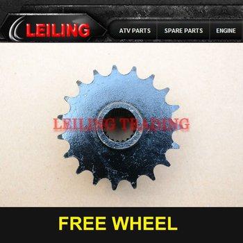 19 Tooths Free Wheel,GY6 150CC Engine,Quad ATV Spare Parts For ATV
