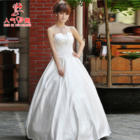 Free shipping The bride wedding dress formal dress 2013 fashion princess plus size mm royal 138