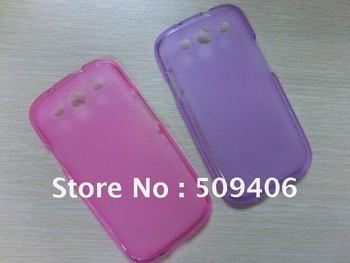 For Samsung Galaxy i9300 cellphone TPU GEL skin cases