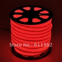 Free shipping by DHL ,Red Flexible LED Neon Rope Light with 150feet  with CE,ROHS