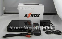 Azbox Bravissimo Set Top Box Twin Tuner Open Nagra3 Bravissimo Linux OS For South America Free Shipping