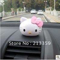 Free Shipping for hello kitty car perfume cartoon crystal ball perfume