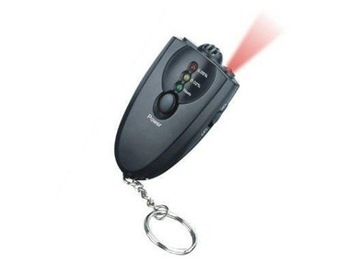 AD-09 Mini Accurate Breath Alcohol Tester with Flashlight Professional Digital Breath Alcohol Tester without LCD display