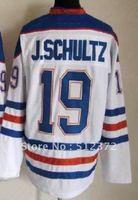 Free Shipping!!! Hockey jersey #19 Justin Schultz white jersey