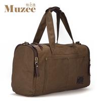 Travel bag large capacity handbag shoulder bag luggage male canvas bag