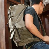 Cool backpack casual canvas man bag one shoulder travel bag travel backpack trend