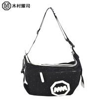 Handbag Shoulder  messenger  canvas  school  student  white-collar  Bag Free Shipping