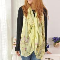 Free Shipping autumn smoothens elegant women's ultra long elegant silk scarf
