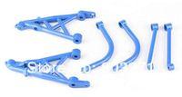 Free Shipping- Nylon Rear Shock Tower Set  for Baja 5B/5T, Fit HPI Baja Parts,Blue/White