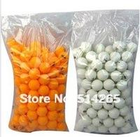 Wholesale 300 Pcs / LOT  HOT 40mm  XI SHANG XI Yellow  Ping Pong Balls Ping-Pong Big Table Tennis  Balls Big   Free Shipping