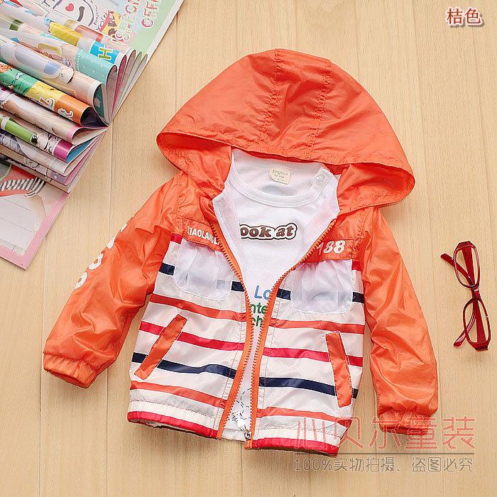 Masculino outerwear feminina outono criança com um capuz zipper camisola infantil ar condicionado camisa cardigan trincheira de couro criança(China (Mainland))