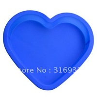 D3 Free shipping! DIY Cake Mold, Silicon Cake Heart Pan Mold, Big Muffin Cup