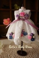 Blythe Doll Clothes Rose Waltz Turtleneck Dress Handmade Quality Holiday Gift  Free Shipping