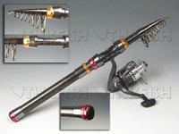 Promotion! 1Pcs 360CM 3.6m  Protable telescope Mini Pen Fishing Rod Rods Spinning Fishing Rod Pole