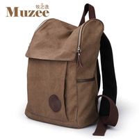 2012 backpack student school bag male casual backpack fashion