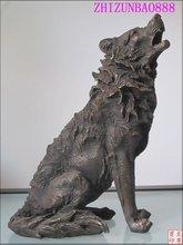 popular wolf statue