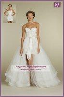 AWB0899 2012 Fashionable Lace Wedding Dresses With Detachable Train