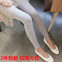New Cotton modal legging female Lady pants Good elastic ankle length trousers Woman Leggings