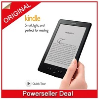 "Amazon Kindle Non-Touch Upgrade Version, Wi-Fi, 6"" E Ink Display - includes Special Offers & Sponsored Screensavers"