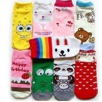 free shipping Lovely socks cartoon socks sports socks