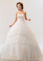 Wholesale - Surprise! -$10-$20-$30+gift!2012 new princess show thin wedding dress HS30 -1270