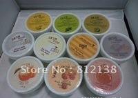 Free Shipping  6PCS/LOT 100% guaranteed S.F. Moisturizing and whitening  mask wash off 100ml, 10 flavors for choice, hot selling