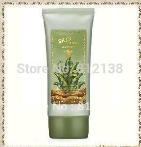Free Shipping 100% Quality Guaranteed Aloe BB Cream SPF20 PA+, 50g , #1 brightening & #2 natural for choice,6pcs/lot