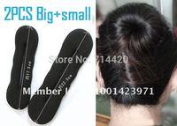 2pcs/lot  Women Magic sponge hair Styling Holder Inserts styling accessory Twist Tool
