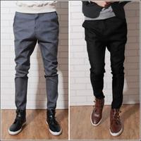 Men's clothing casual pants harem pants male skinny pants british style tidal current male trousers skinny pants trousers