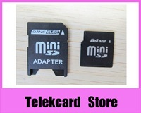 64MB MiniSD card MINI SD Memory Card with Adapter