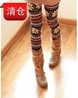 Free shipping Z0109 pattern onta doodle autumn and winter legging ankle length trousers 2012 autumn and winter,10pcs