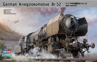 Free Shipping German Kriegslokomotive BR-52,Hobbyboss Train Model,Kriegslokomotiven