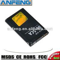 High capacity battery BL-5CA BL5CA for nokia phone 1110 1112 1116 1208 1600 free shipping 2pcs