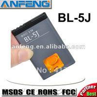 Real 1320mah BL-5J BL5J Battery for Nokia Asha 302 200 201 c3-00 x1-01 5230 5233 Bateria Batterie free shipping